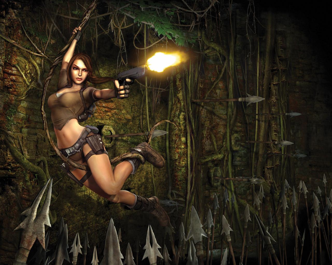 Free Tomb Raider: Legend Wallpaper in 1280x1024