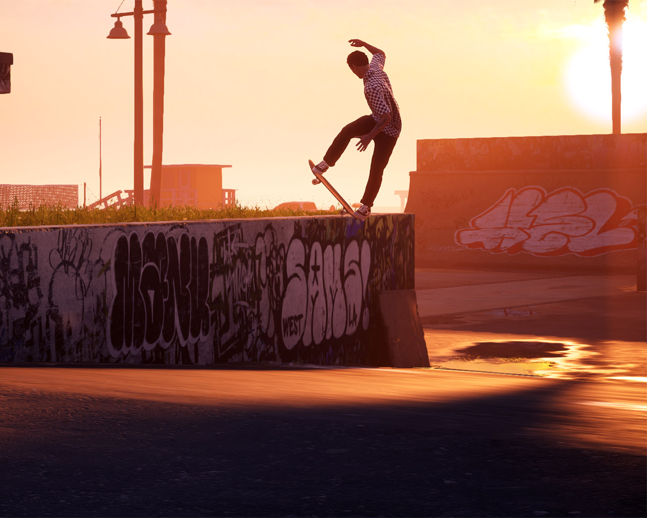 Free Tony Hawk's Pro Skater 1 + 2 Wallpaper in 1280x1024