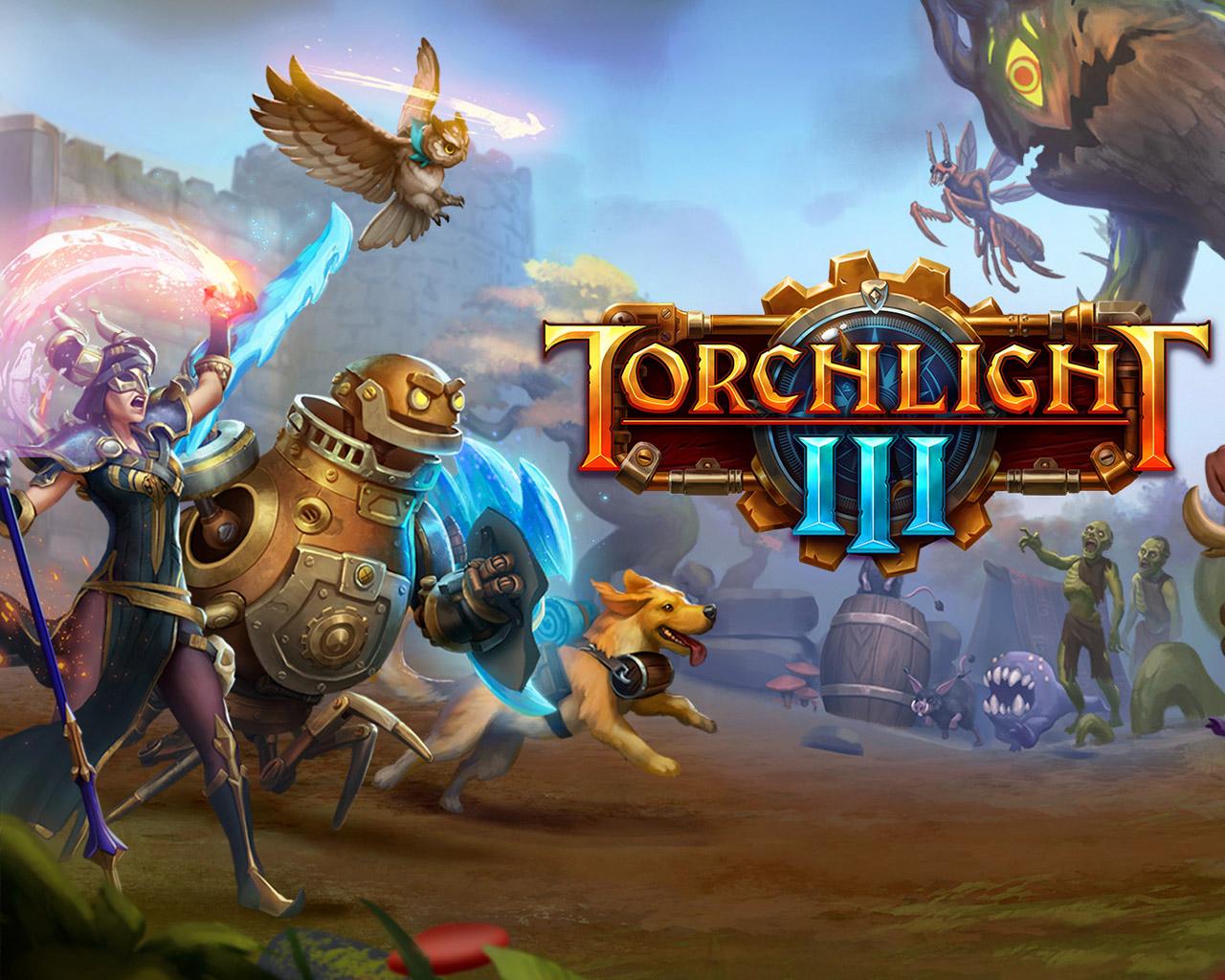 Free Torchlight III Wallpaper in 1280x1024