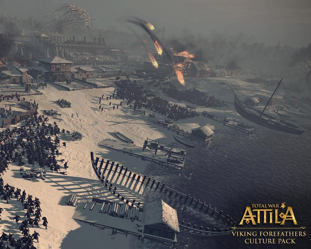 Free Total War: Attila Wallpaper in 1280x1024