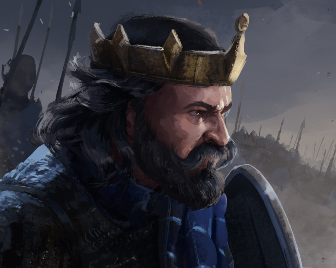 Free Total War Saga: Thrones of Britannia Wallpaper in 1280x1024
