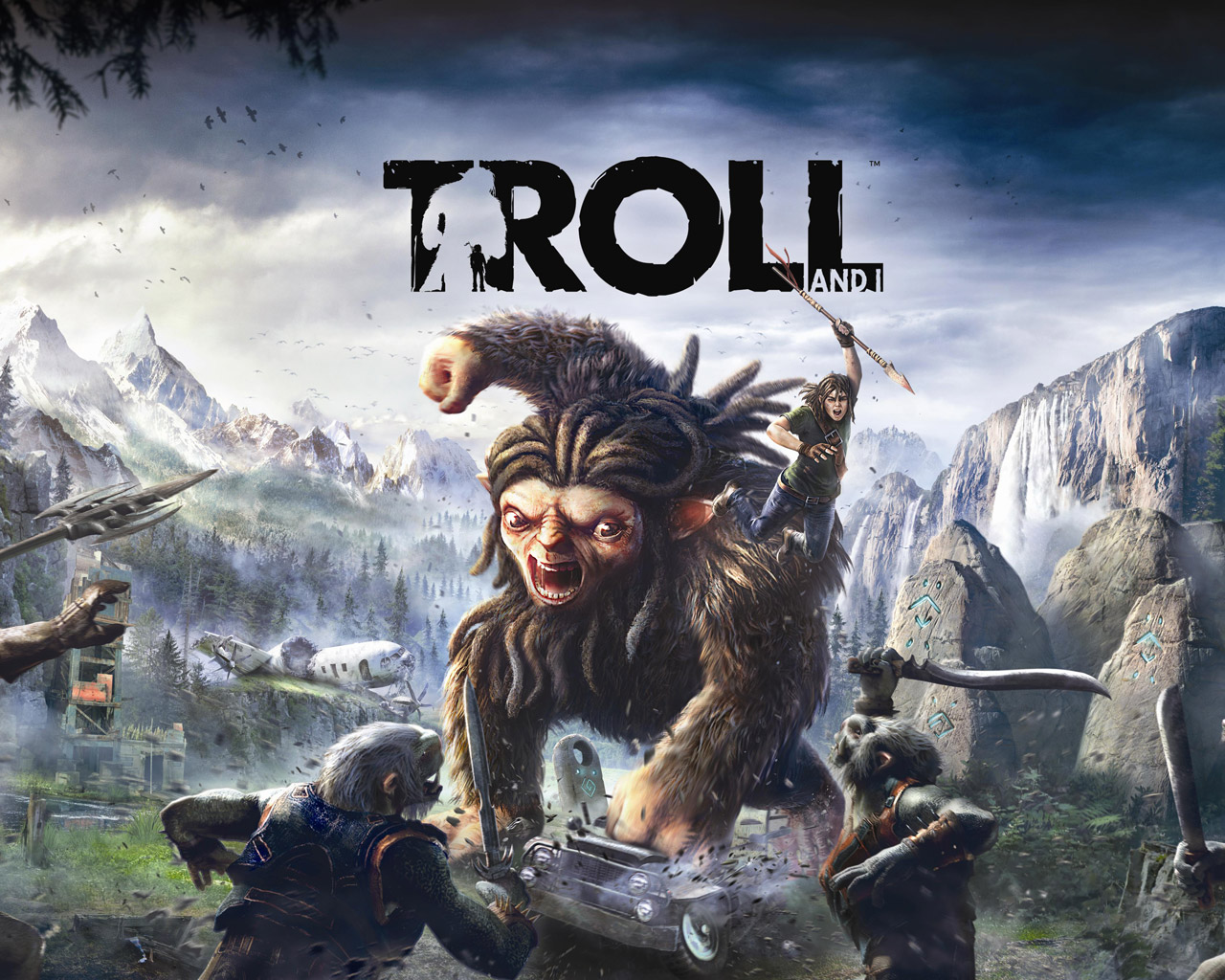 Troll and I Wallpaper in 1280x1024