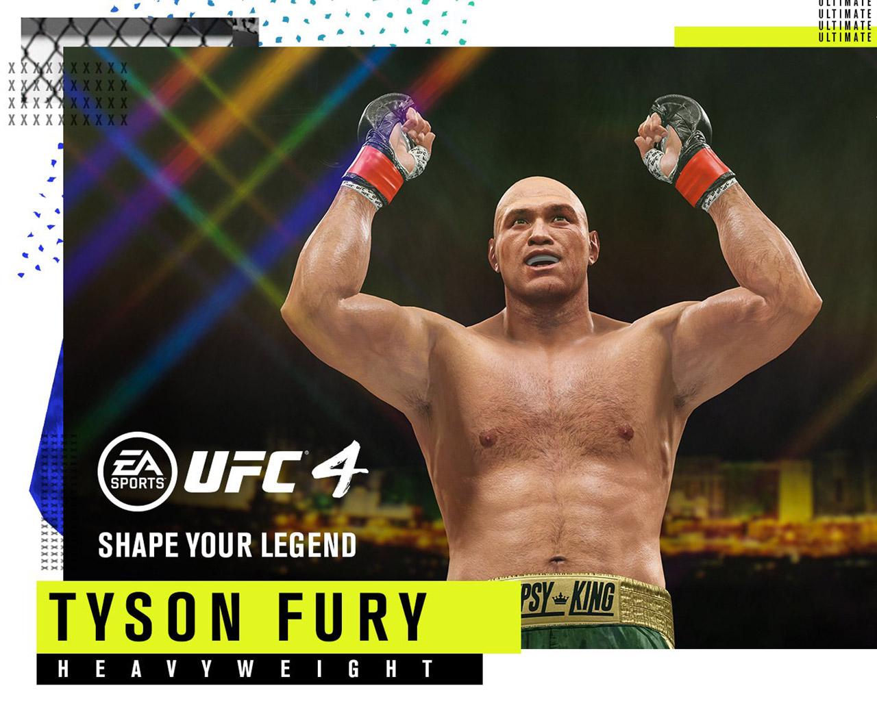 UFC 4 Wallpaper in 1280x1024