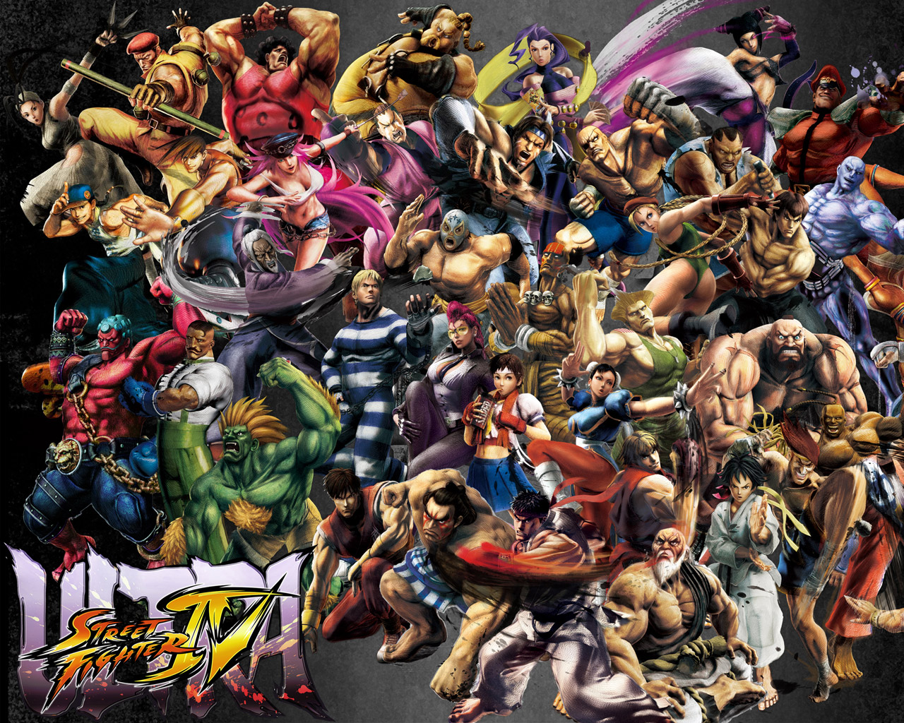 Ultra Street Fighter IV Wallpaper in 1280x1024