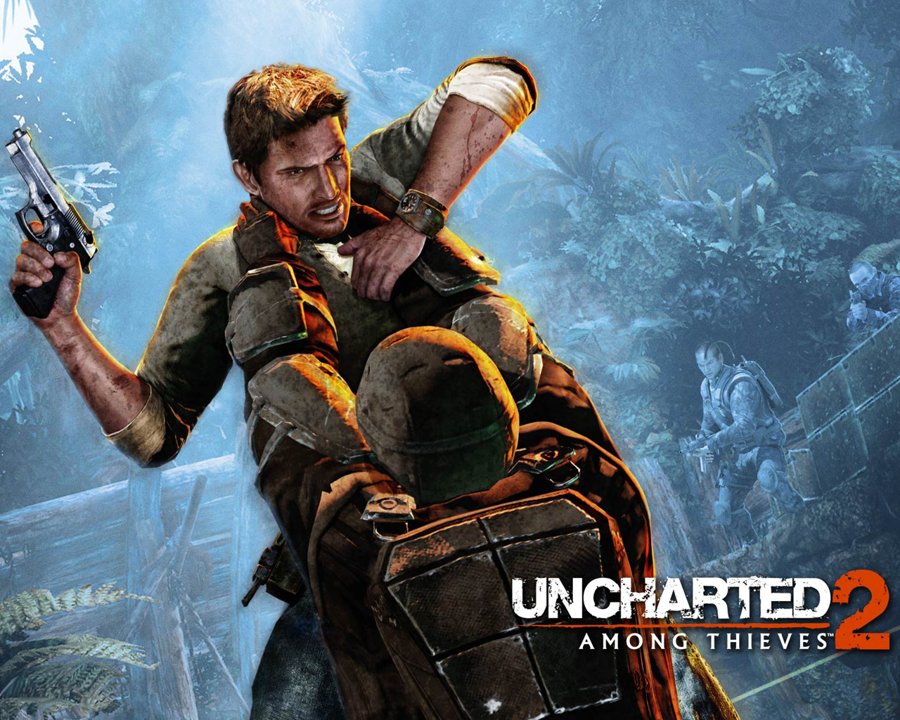 Free Uncharted 2: Among Thieves Wallpaper in 1280x1024