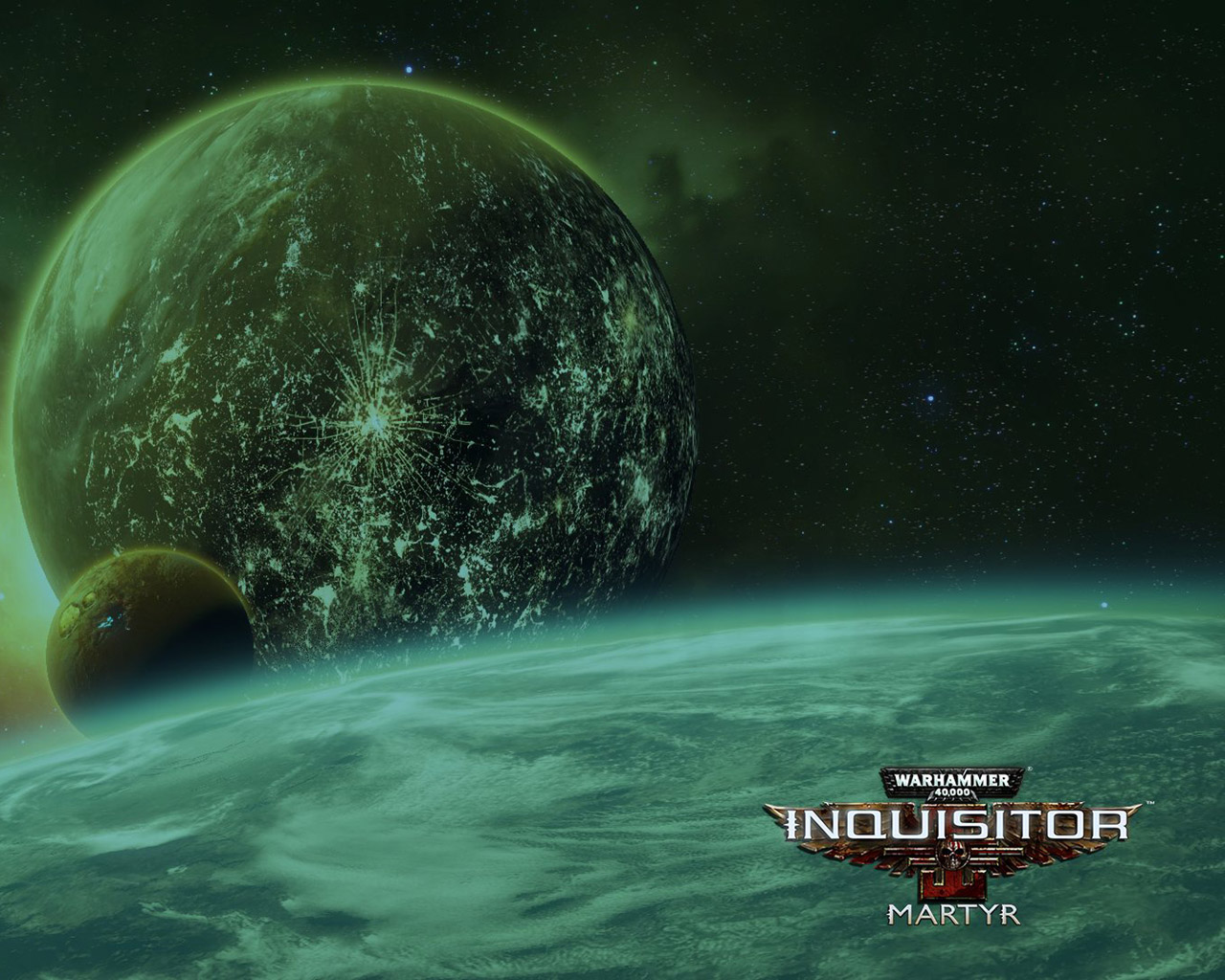 Warhammer 40,000: Inquisitor - Martyr Wallpaper in 1280x1024