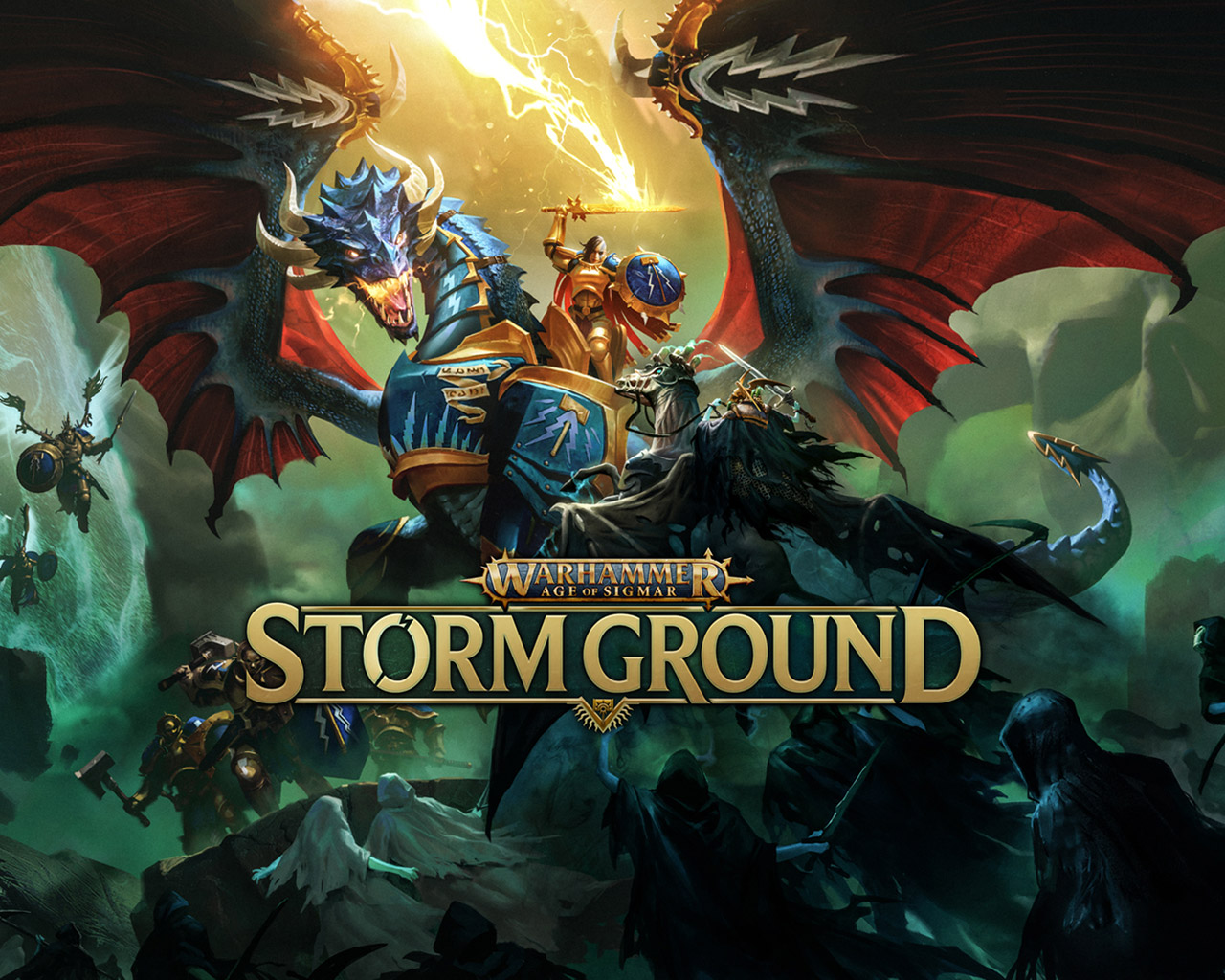 Free Warhammer Age of Sigmar: Storm Ground Wallpaper in 1280x1024