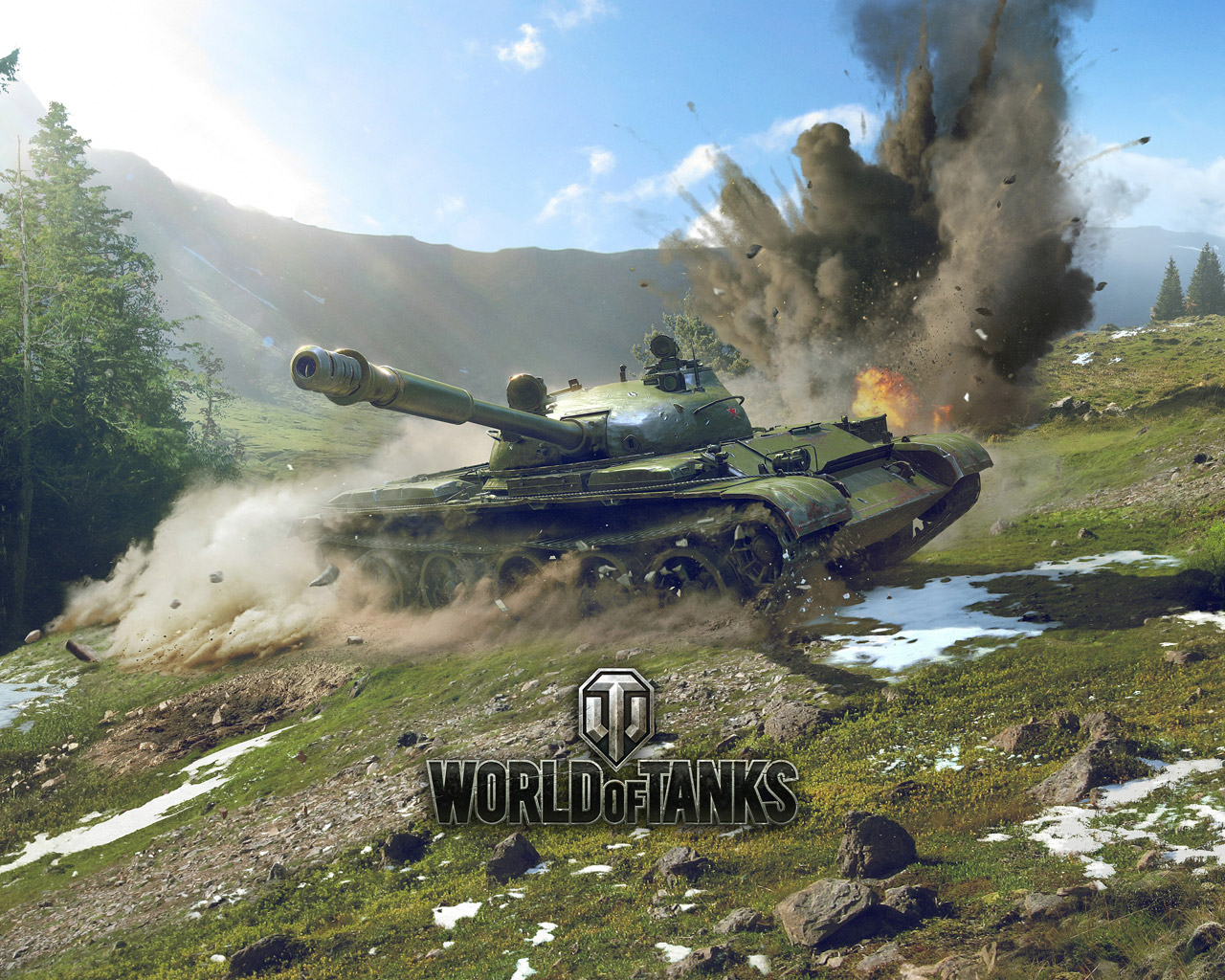 Free World of Tanks Wallpaper in 1280x1024