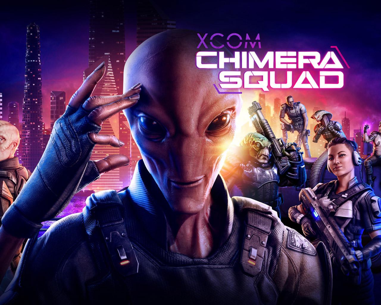 Free XCOM: Chimera Squad Wallpaper in 1280x1024