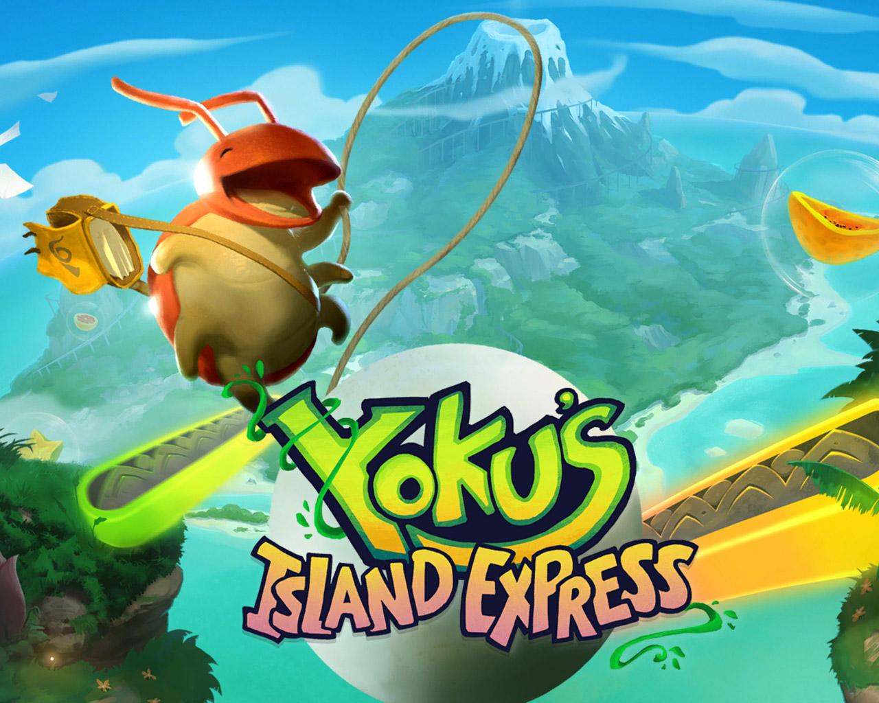 Free Yoku's Island Express Wallpaper in 1280x1024