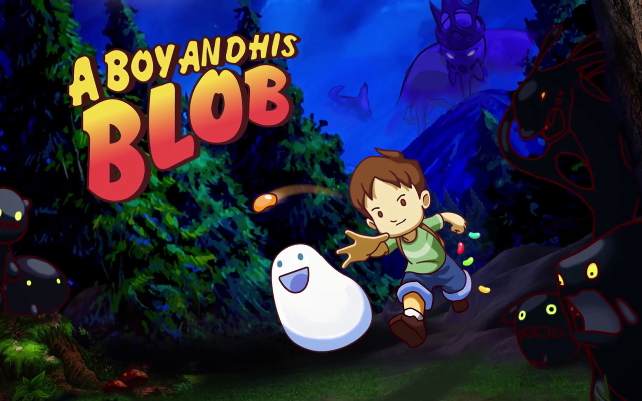 Free A Boy and His Blob Wallpaper in 1280x800