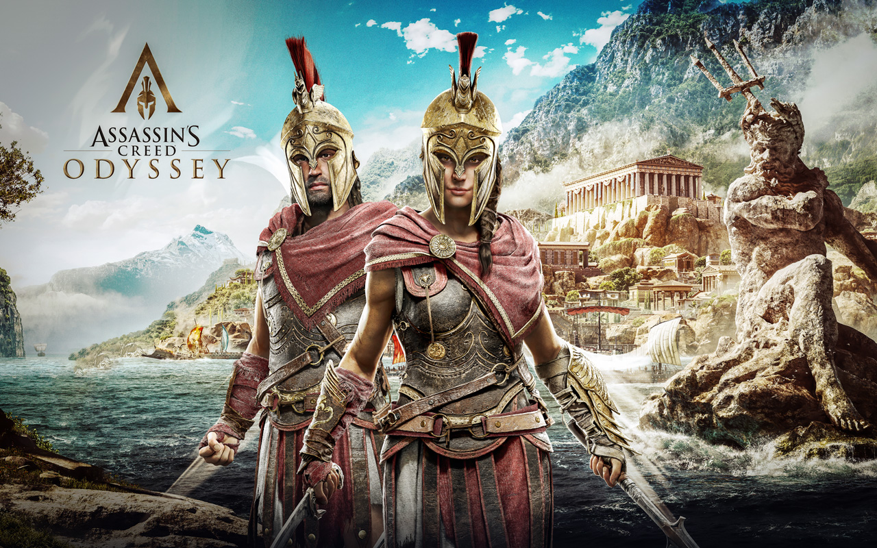 Free Assassin's Creed Odyssey Wallpaper in 1280x800