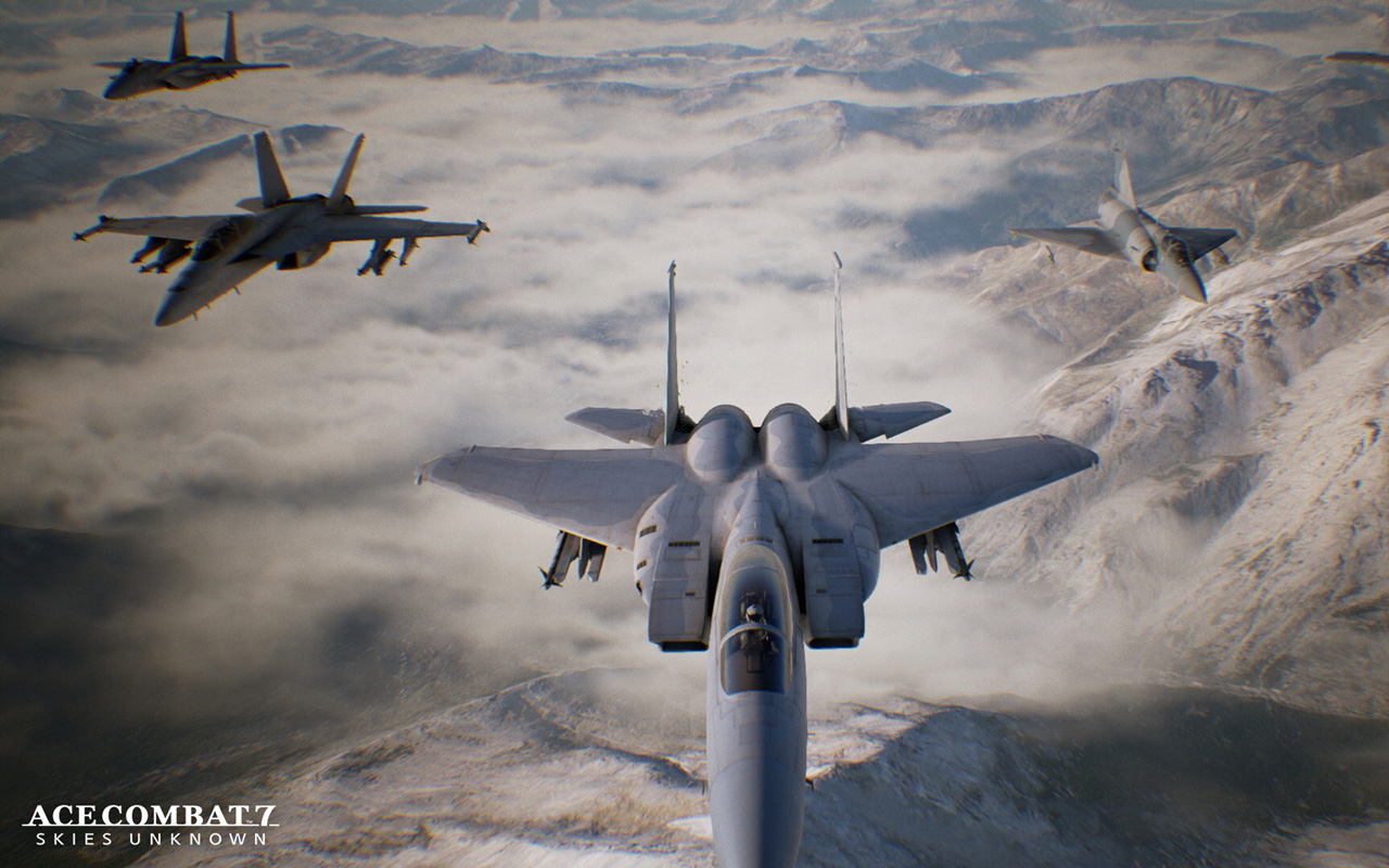 Free Ace Combat 7 Wallpaper in 1280x800