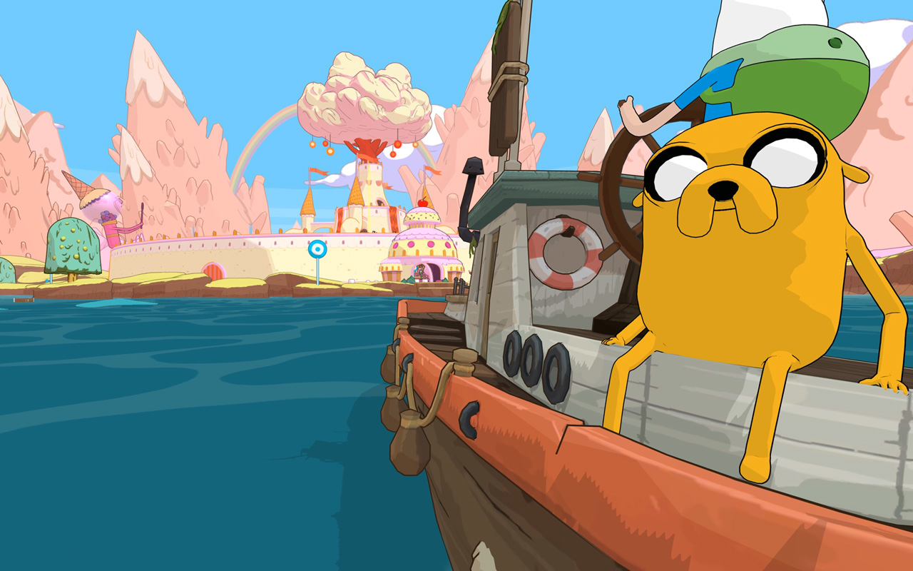 Adventure Time: Pirates of the Enchiridion Wallpaper in 1280x800