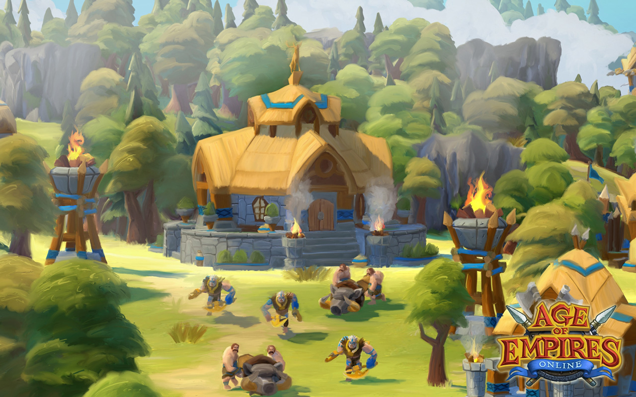 Free Age of Empires Online Wallpaper in 1280x800