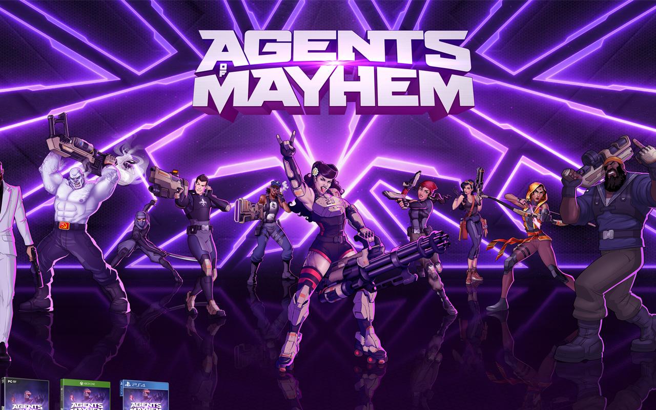 Free Agents of Mayhem Wallpaper in 1280x800