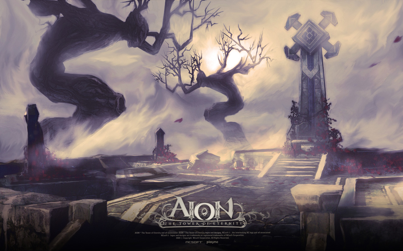 Free Aion: The Tower of Eternity Wallpaper in 1280x800