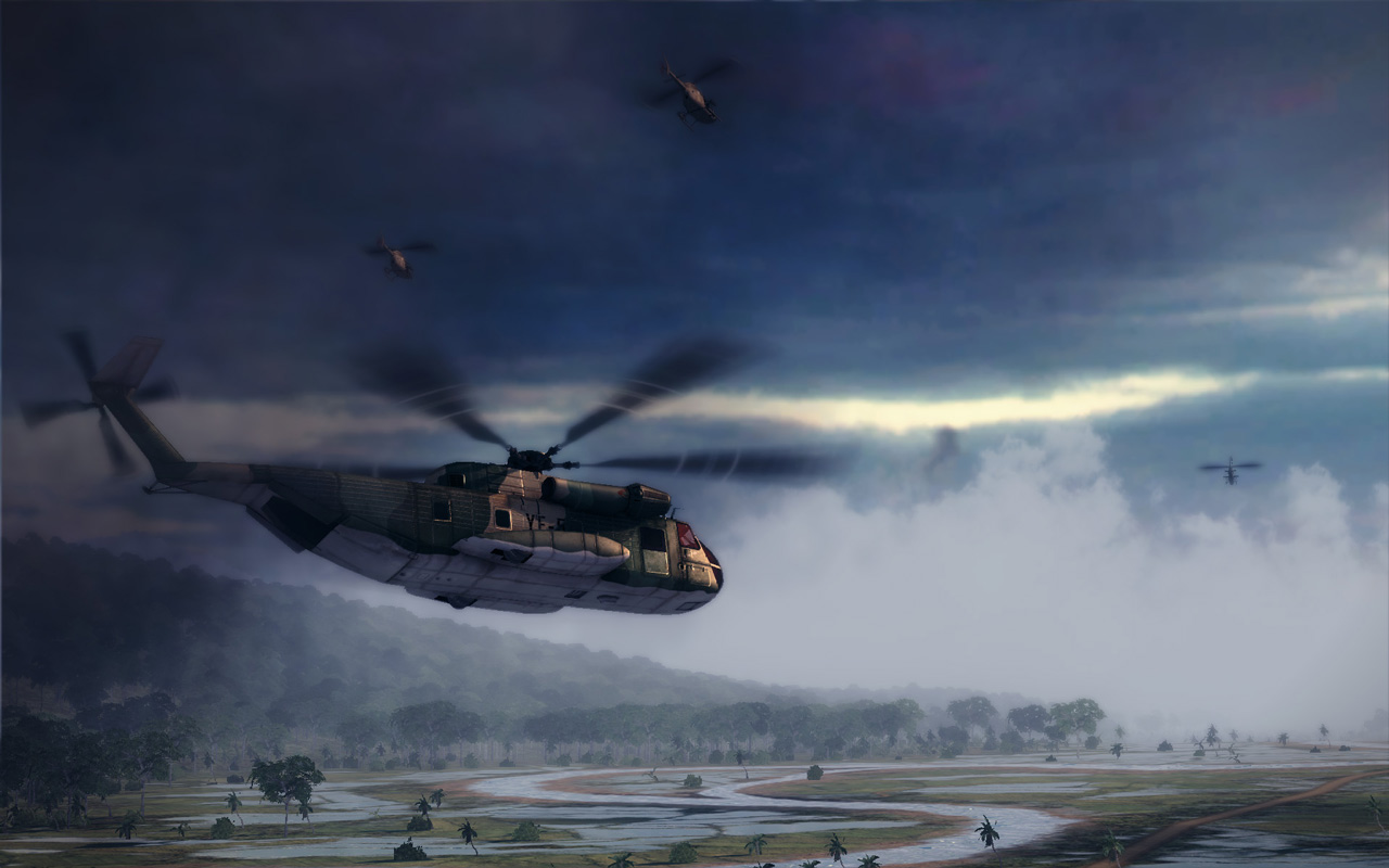 Free Air Conflicts: Vietnam Wallpaper in 1280x800
