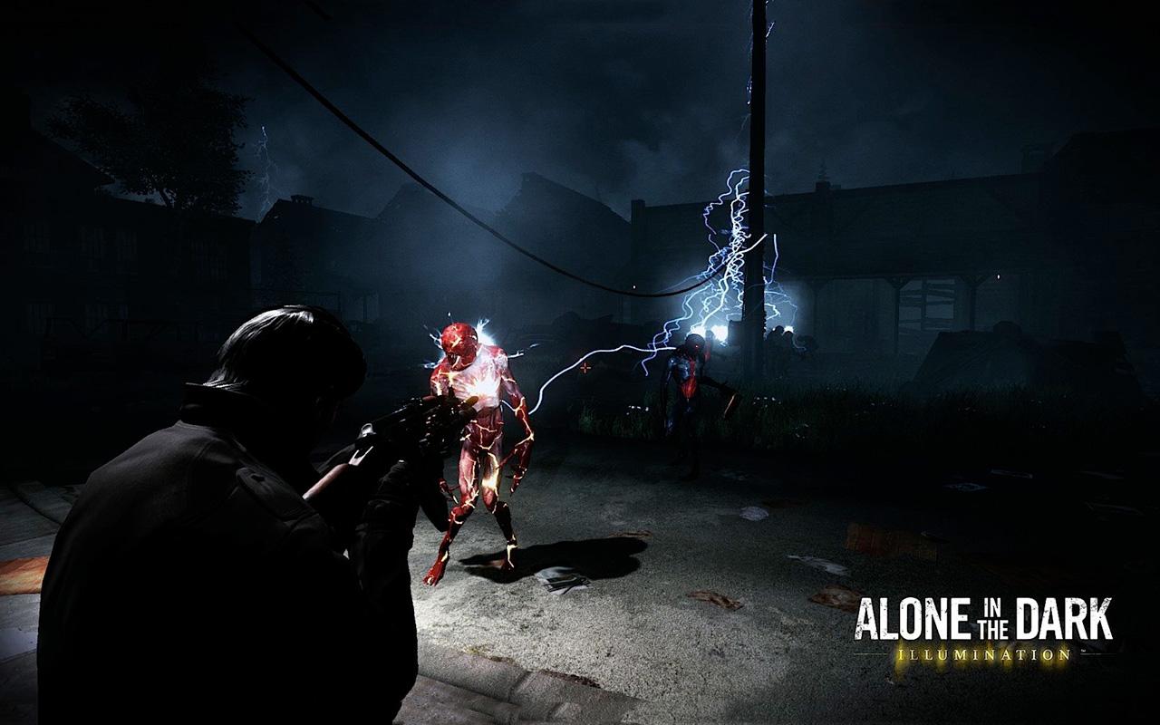 Free Alone in the Dark: Illumination Wallpaper in 1280x800