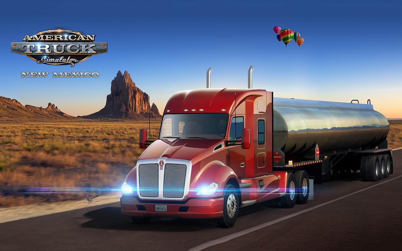 Free American Truck Simulator Wallpaper in 1280x800