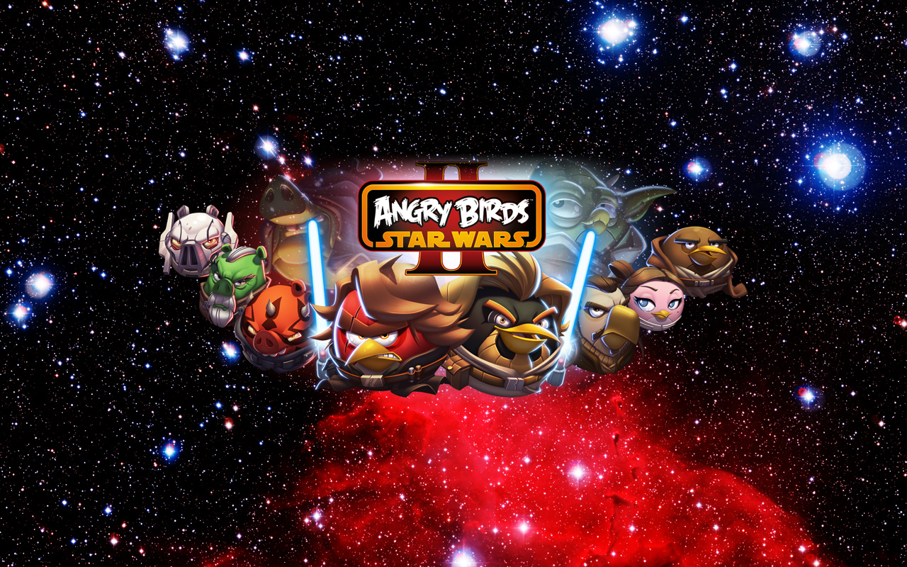 Free Angry Birds Star Wars II Wallpaper in 1280x800