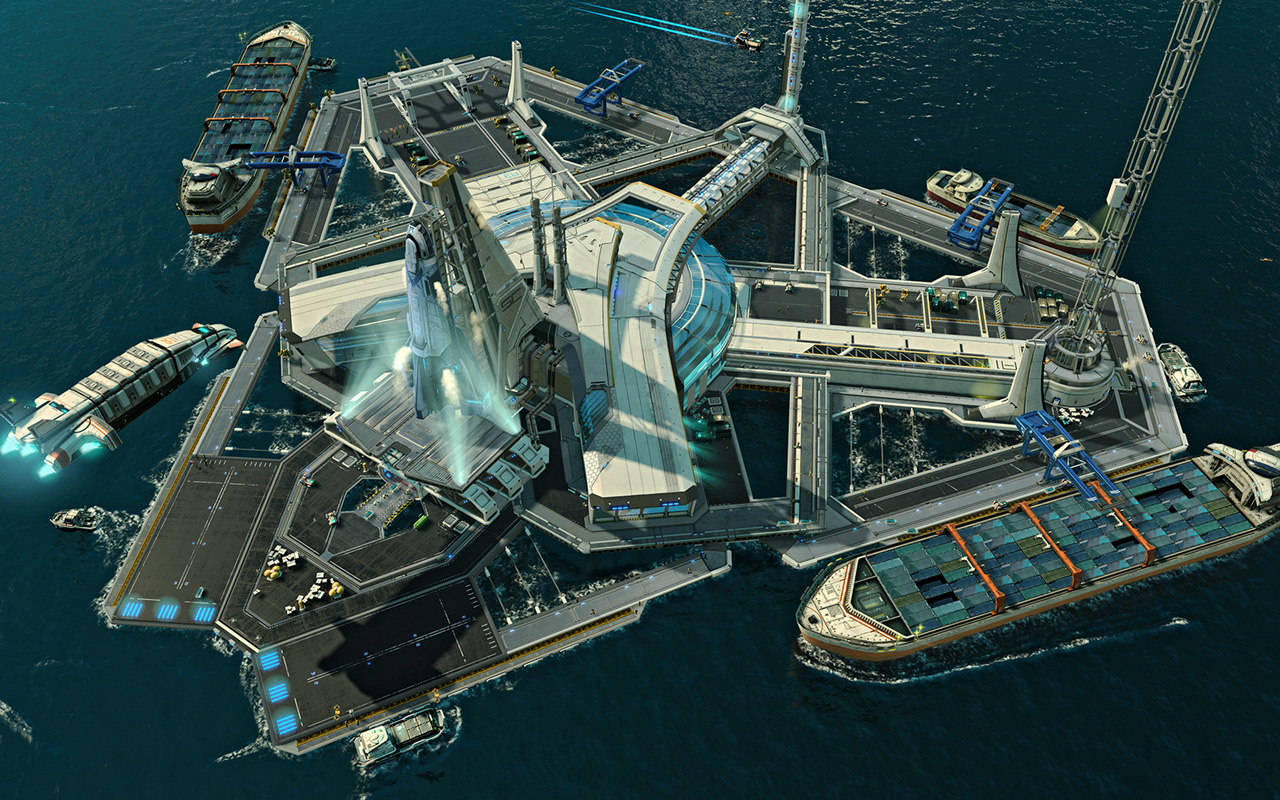 Free Anno 2205 Wallpaper in 1280x800