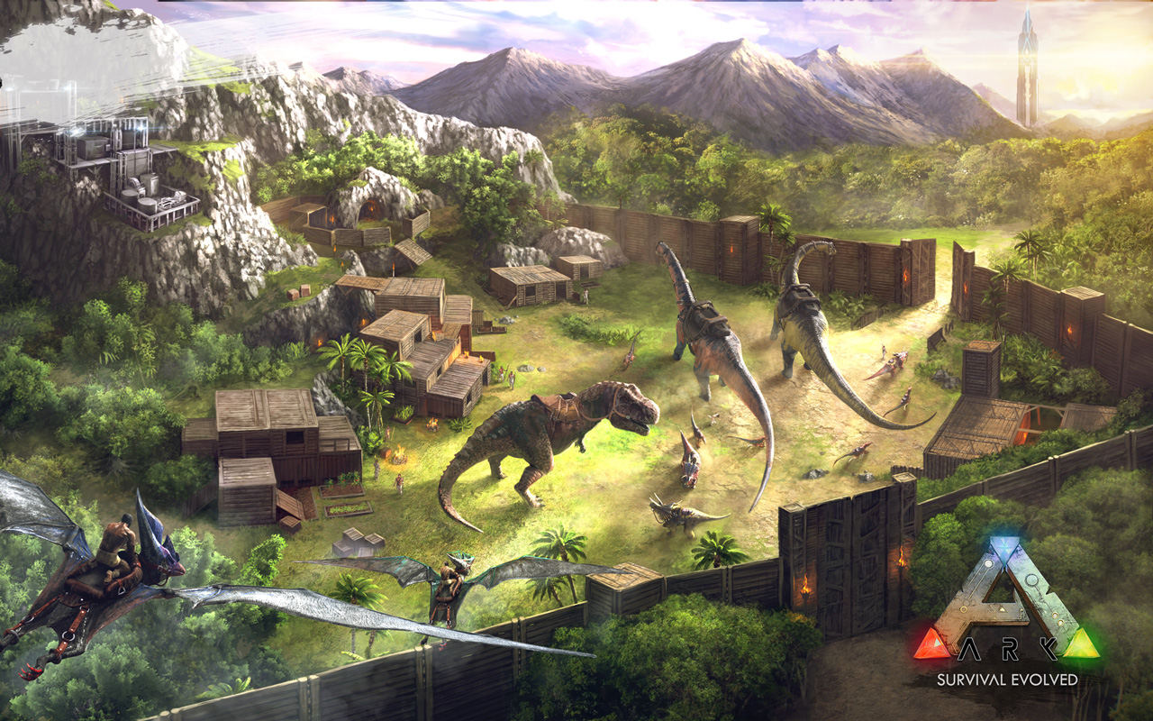 Free ARK: Survival Evolved Wallpaper in 1280x800