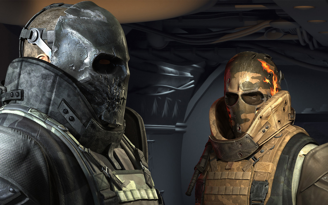 Free Army of Two Wallpaper in 1280x800