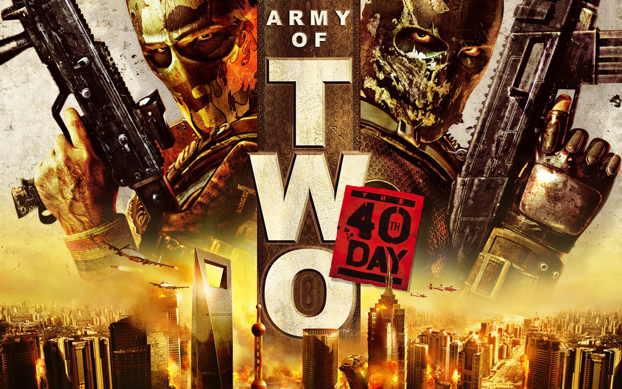 Free Army of Two: The 40th Day Wallpaper in 1280x800