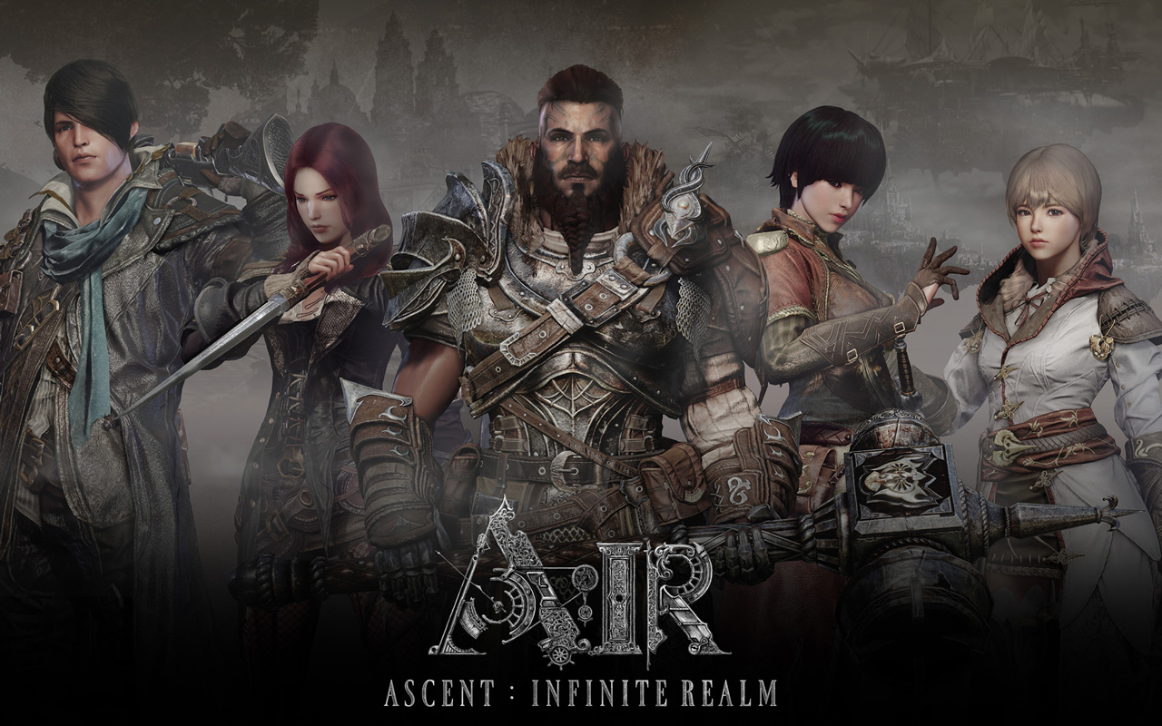 Free Ascent: Infinite Realm Wallpaper in 1280x800