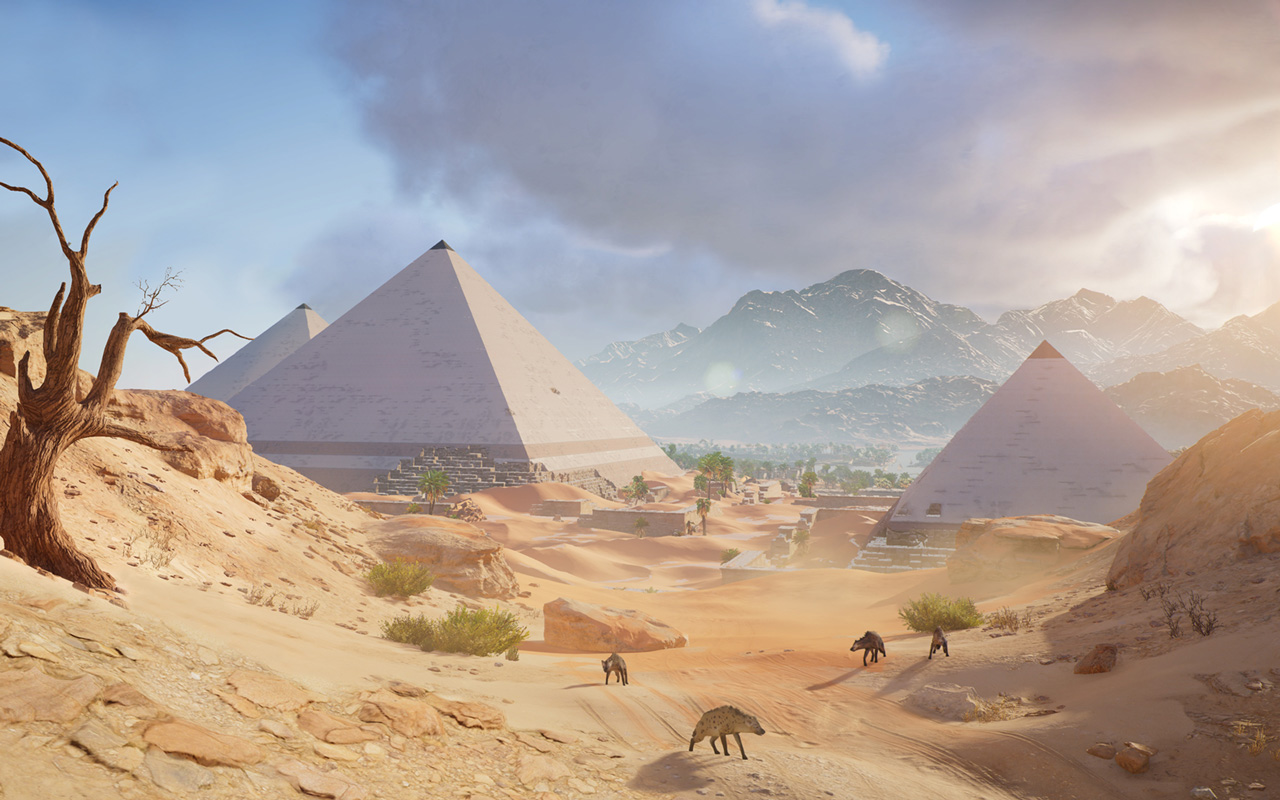 Free Assassin's Creed Origins Wallpaper in 1280x800