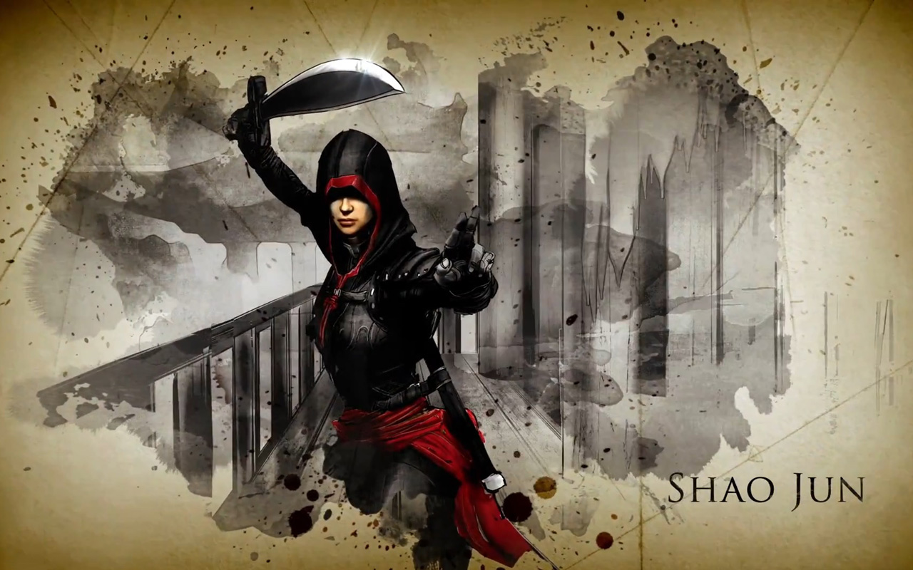 Free Assassin's Creed Chronicles: China Wallpaper in 1280x800