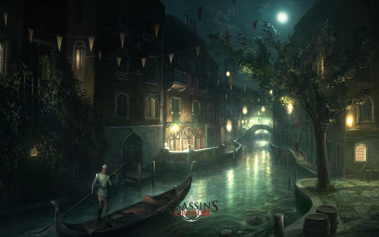 Free Assassin's Creed II Wallpaper in 1280x800