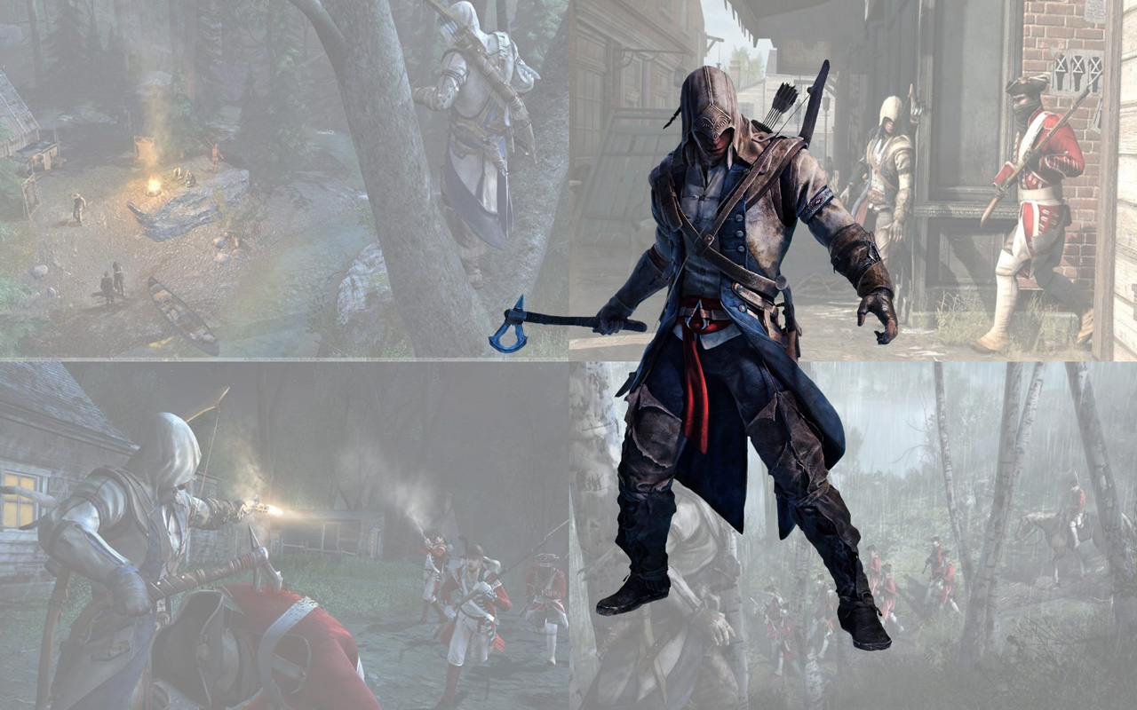 Free Assassin's Creed III Wallpaper in 1280x800