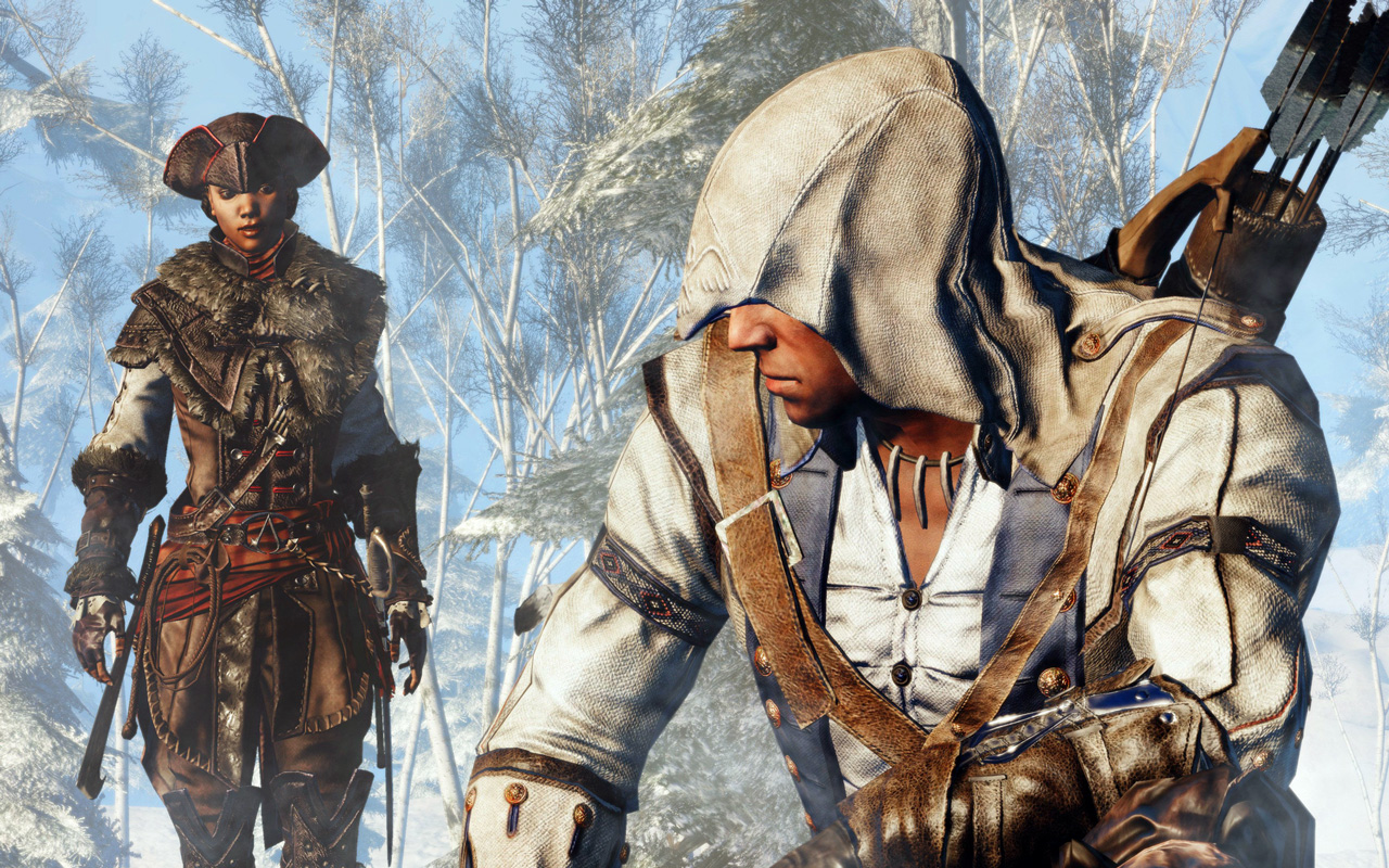 Free Assassin's Creed III: Liberation Wallpaper in 1280x800