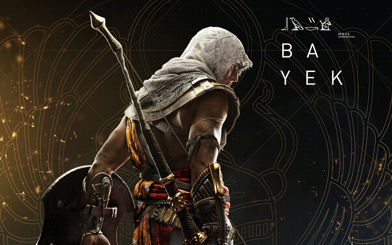 Free Assassin's Creed Origins Wallpaper in 1280x800