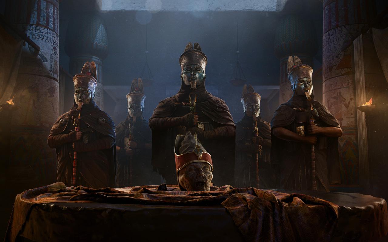Assassin's Creed Origins Wallpaper in 1280x800