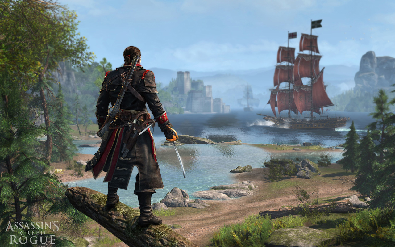 Assassin's Creed: Rogue Wallpaper in 1280x800