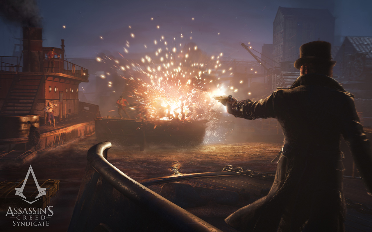 Free Assassin's Creed: Syndicate Wallpaper in 1280x800