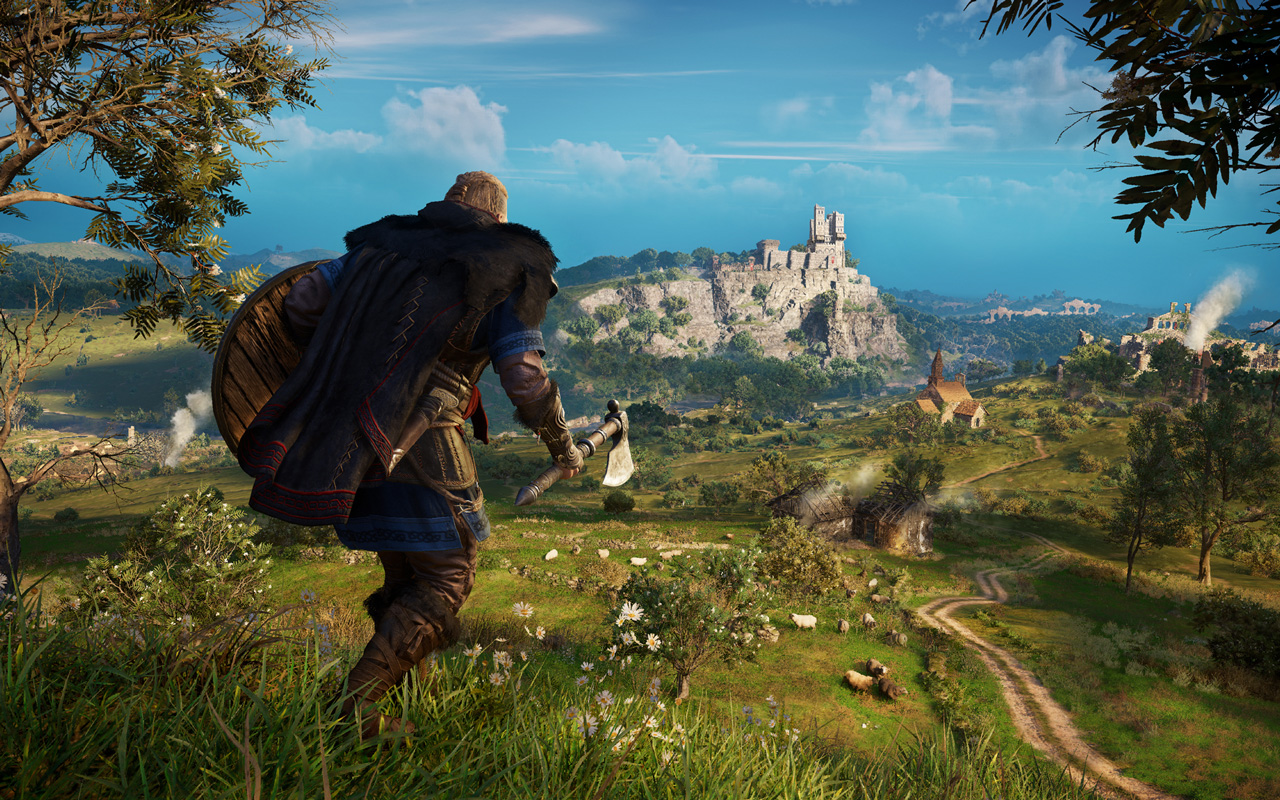 Free Assassin's Creed Valhalla Wallpaper in 1280x800