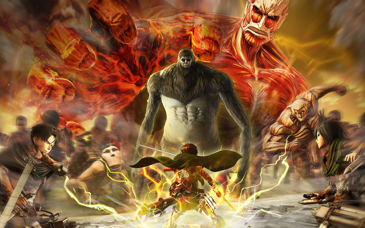 Free Attack on Titan 2 Wallpaper in 1280x800