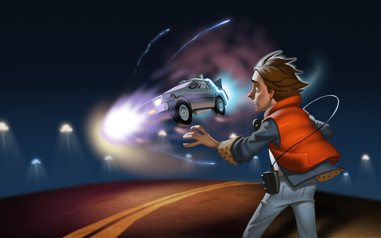 Free Back to the Future: The Game Wallpaper in 1280x800