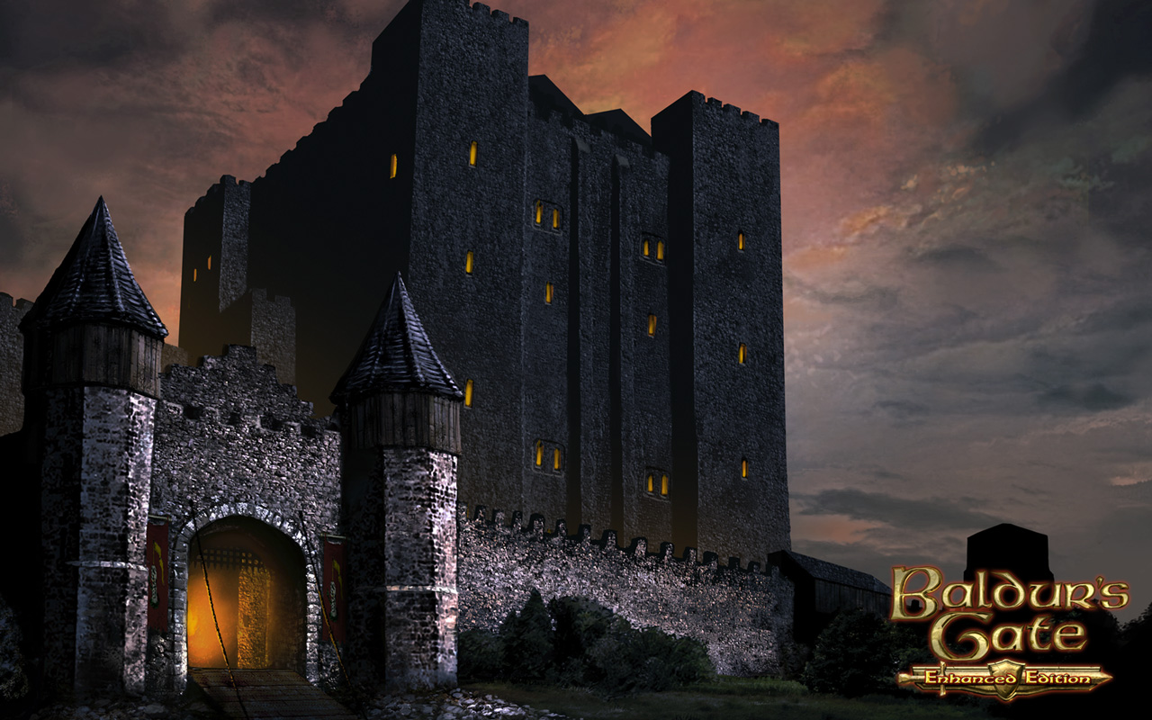 Free Baldur's Gate Wallpaper in 1280x800
