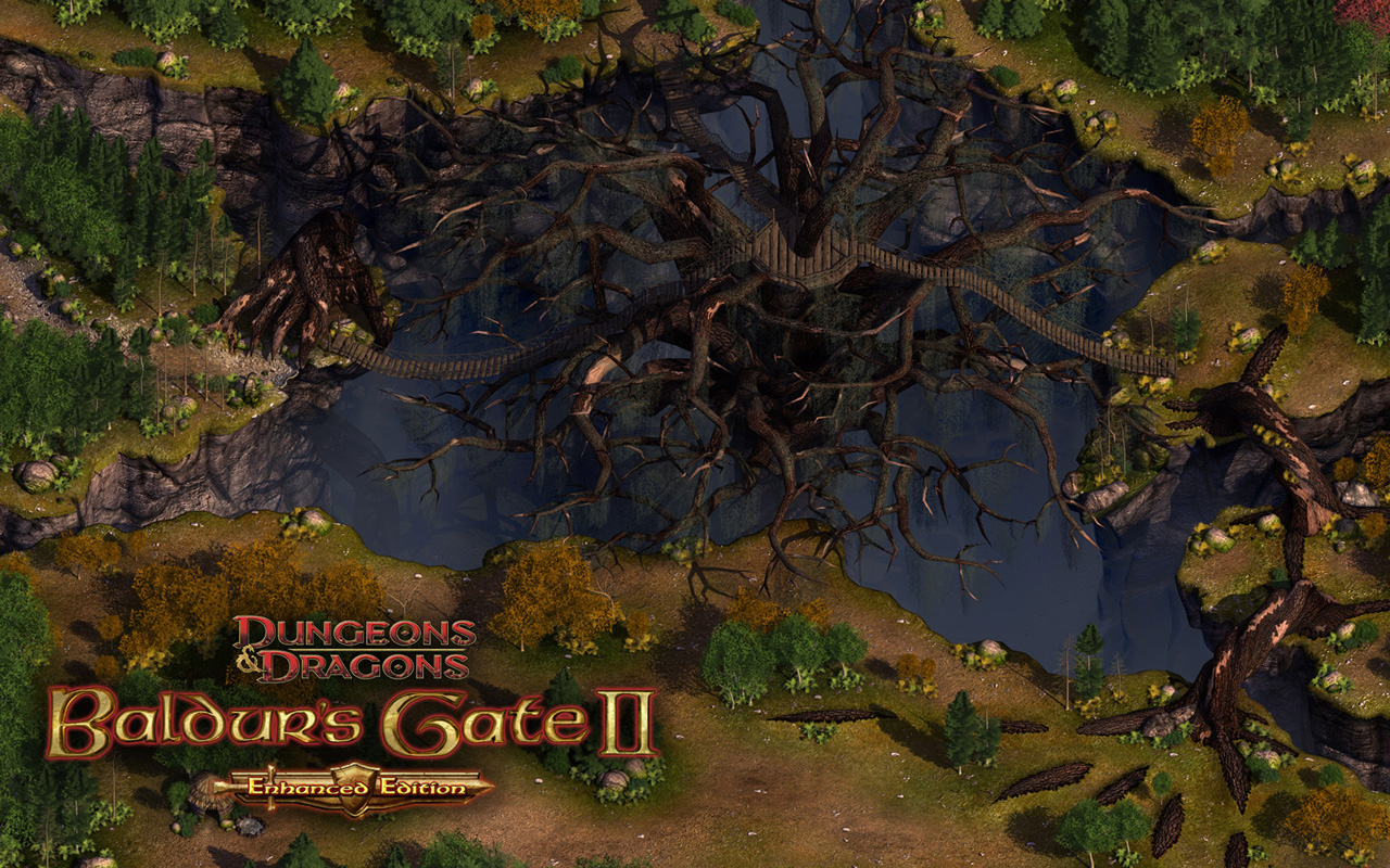 Free Baldur's Gate II Wallpaper in 1280x800