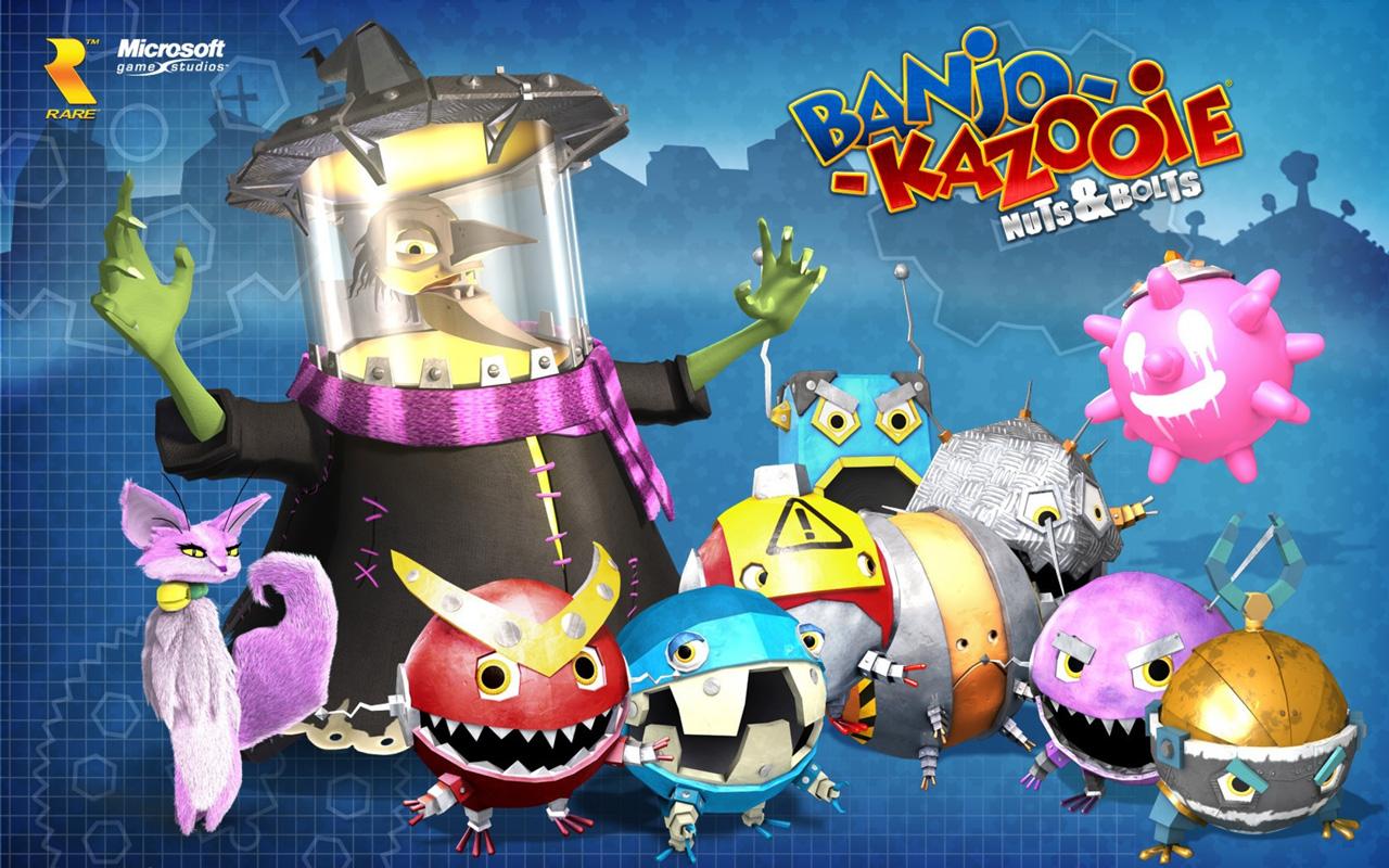 Free Banjo-Kazooie: Nuts & Bolts Wallpaper in 1280x800
