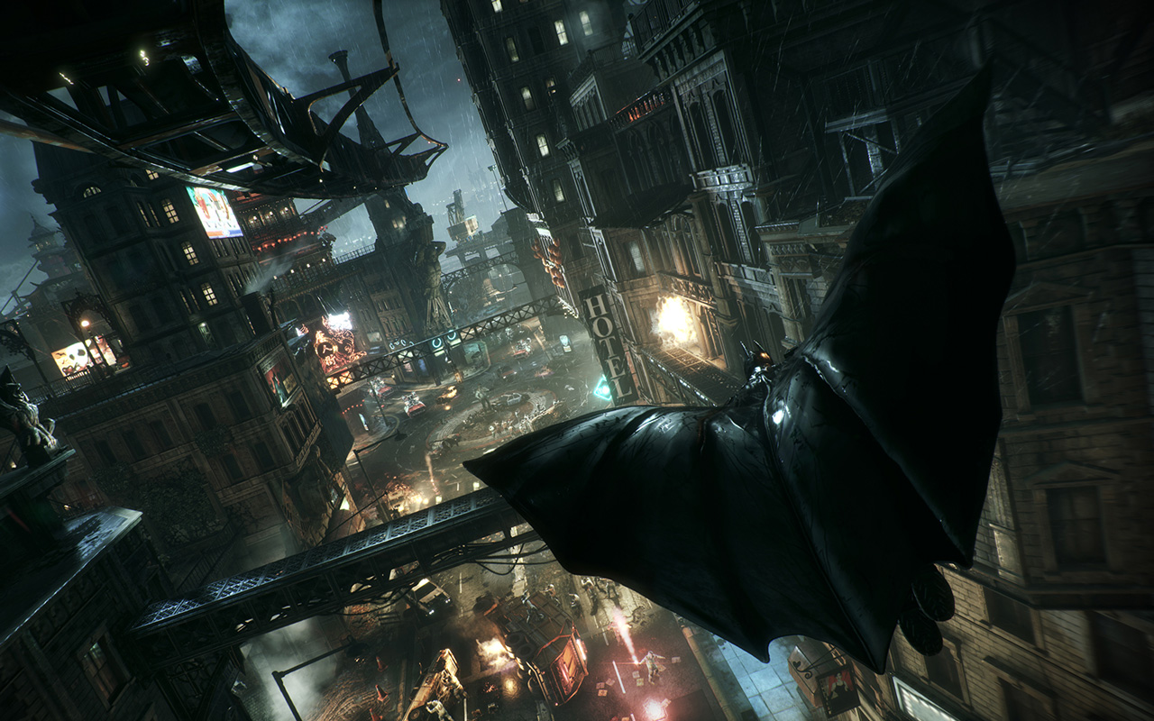 Free Batman: Arkham Knight Wallpaper in 1280x800