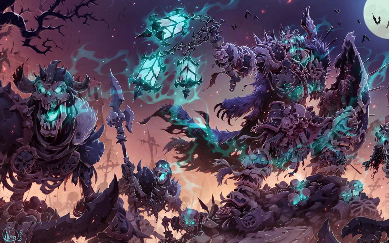 Free Battle Chasers: Nightwar Wallpaper in 1280x800