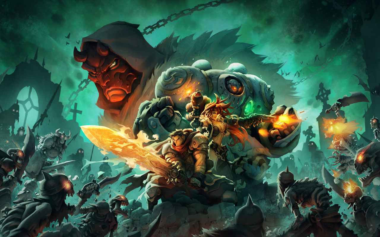 Free Battle Chasers: Nightwar Wallpaper in 1280x800