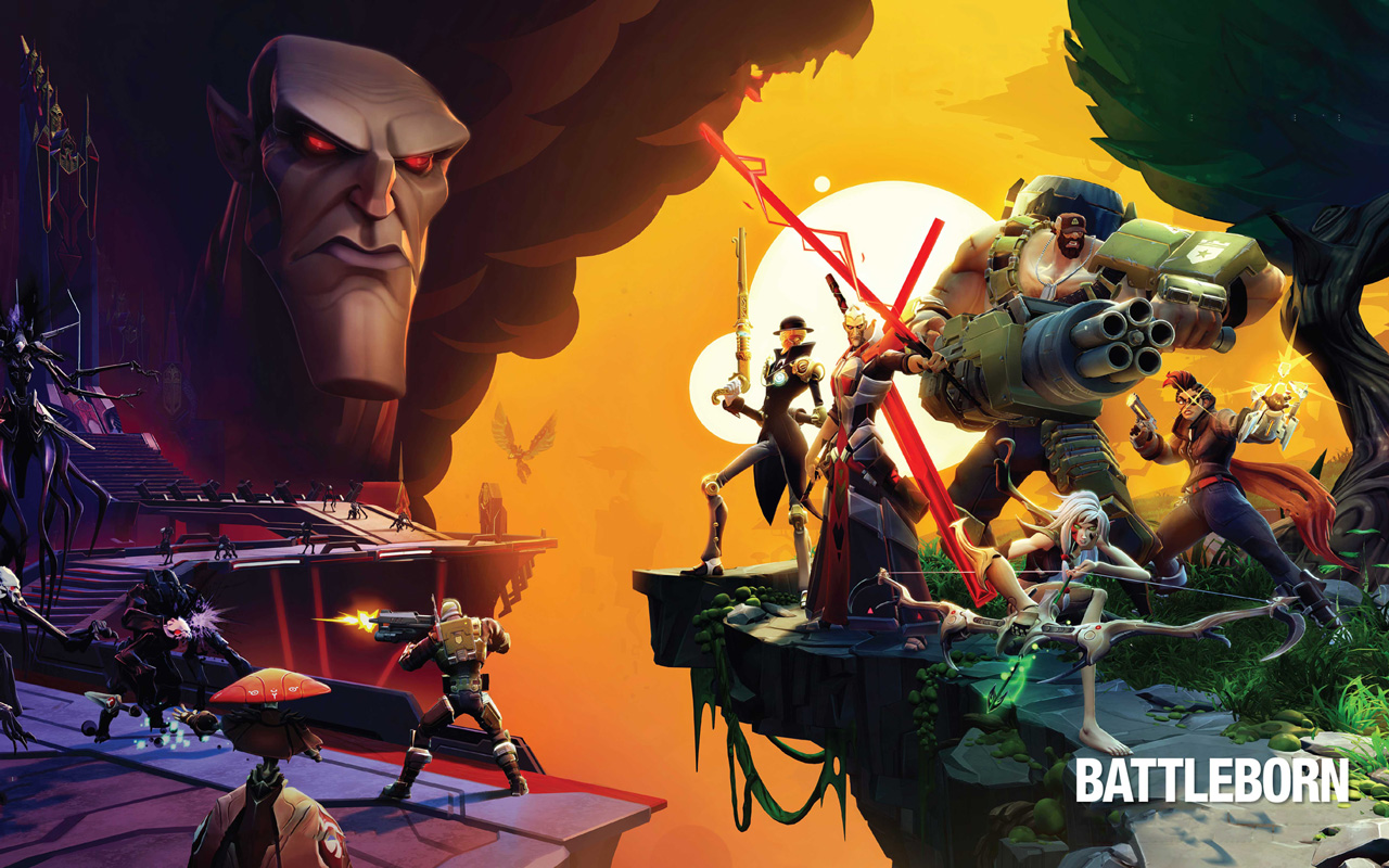 Free Battleborn Wallpaper in 1280x800