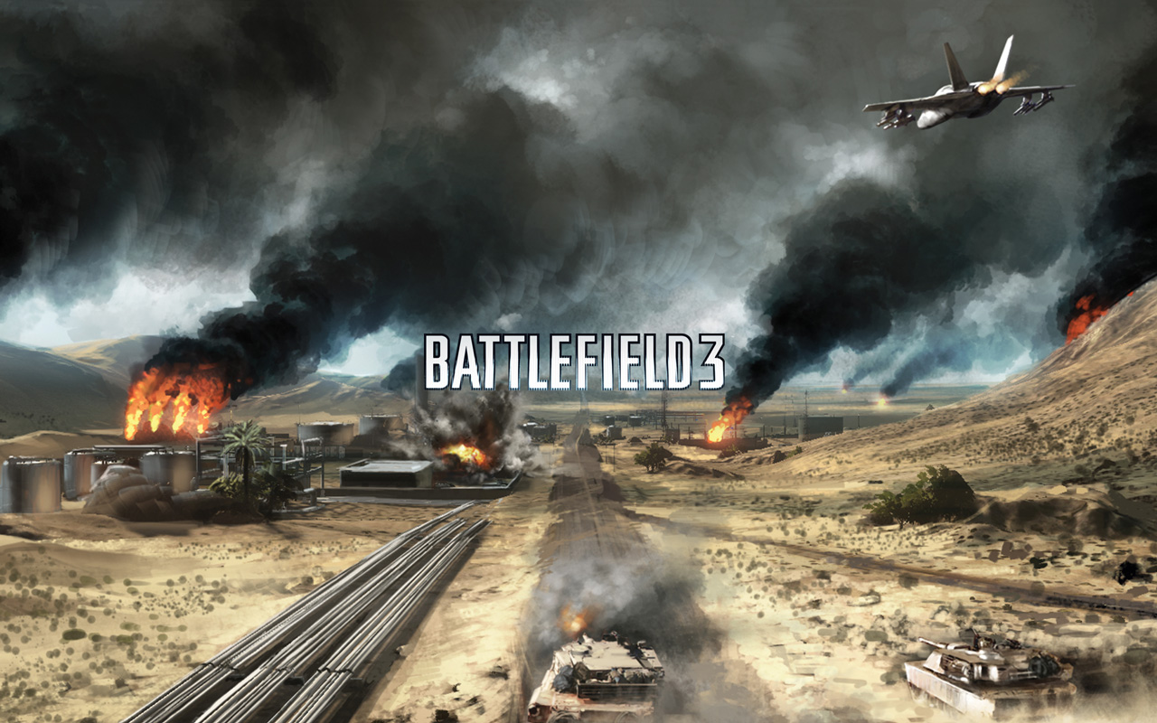 Free Battlefield 3 Wallpaper in 1280x800
